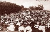 7: Folkemøde på Hohøj 6/7-1919. 6.000 mennesker er samlet omkring hovedtaleren Jeppe Åkjær.