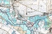 På det gamle målebordsblad-kort fra forrige århundrede ses holmen ved Molbjerg tydeligt.