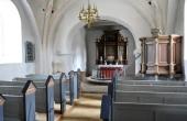 10: Interiør fra Vium Kirke.
