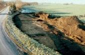 4: Undergrundens spor efter Dandiget ved udgravningerne i 1991.