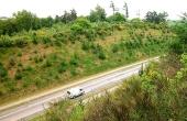 2: Det var i forbindelse med Rønde - Kolind vejen, at gravpladsen blev udgravet i 1991.