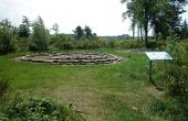 3: Gravhøjene illustrerer på bedste vis hvordan begravelser fandt sted for 2.000 år siden. Her set fra nordvest.
