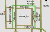 Grundplan af Alling kloster.