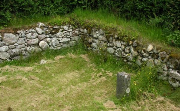 Ruinen af Erik Glippings jagthus blev fredet af Nationalmuseet ved en frivillig fredning i 1907.