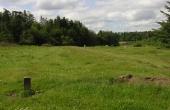 Kong Knaps Dige ses også noget udjævnet i græsgangen vest for Hærvejen.