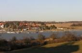 Panorama over vigen set fra Oringe-halvøen.