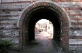 Portindgangen gennem Mølleporten.