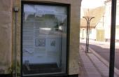 Møn Museum har en lille udstilling om købstaden ved Mølleporten.