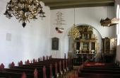 Interiør af Vorbasse kirke.