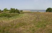 Panorama over skansen set fra øst.
