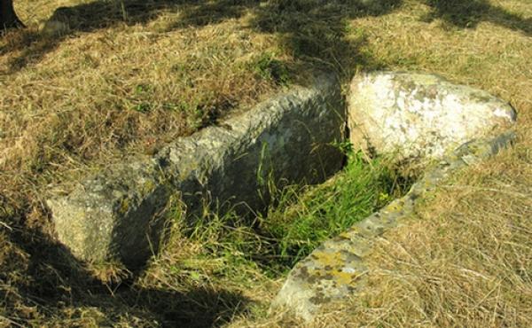 8: Gravkammeret set fra sydøst.