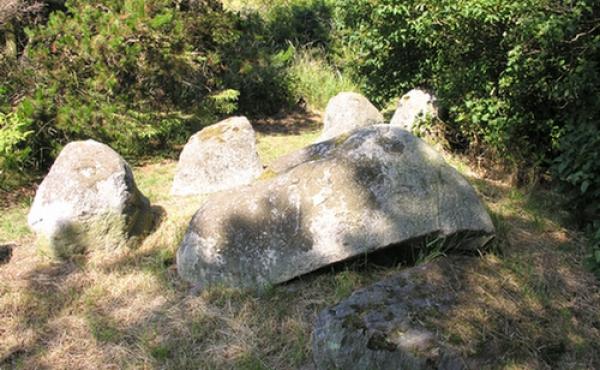 Østlige gravkammer set fra syd.